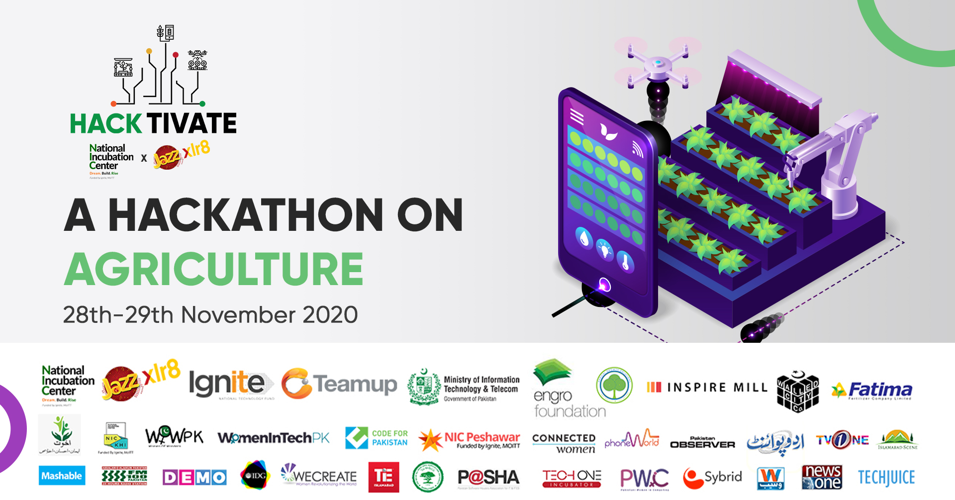 Hacktivate 3.0 - A Hackathon on Agriculture