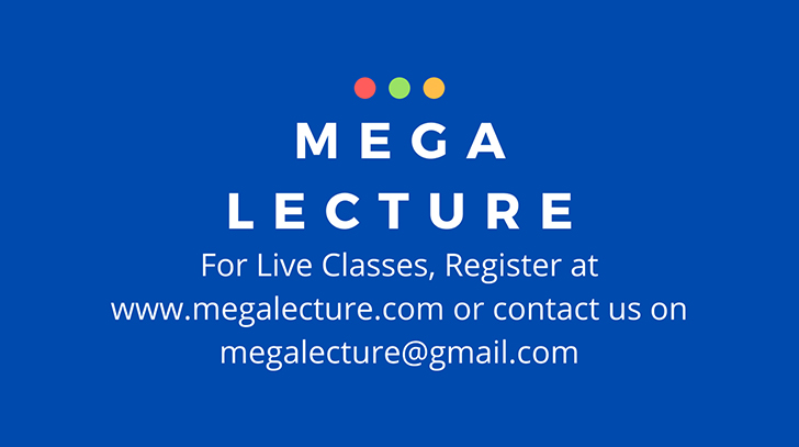 Get Customized Tuition From Renowned Teachers Ai Your Home through MegaLecture